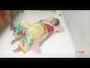 Hot Desi Indian Village Bhabhi With Husband Mature Couple Romance On Floor Rough Giving