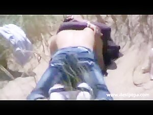 indian amateur couple outdoor quick Sex